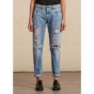 Levi's Vintage Collection 505-0217 distressed jean